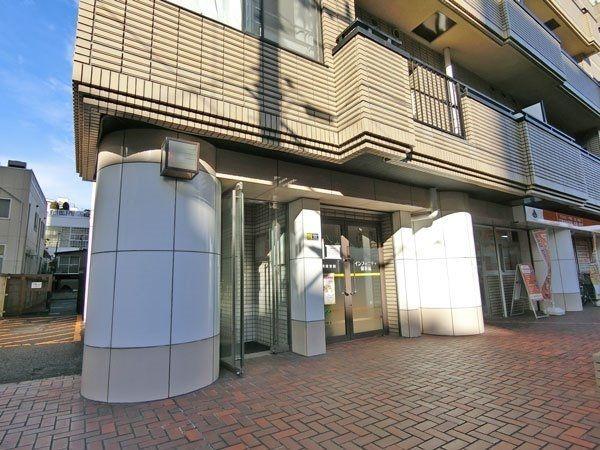 グリーン大山西館の2階住居の入口