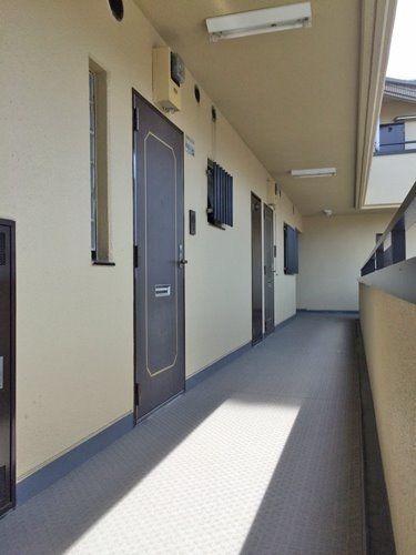 グリーン大山西館(板橋区大山金井町)の共用廊下