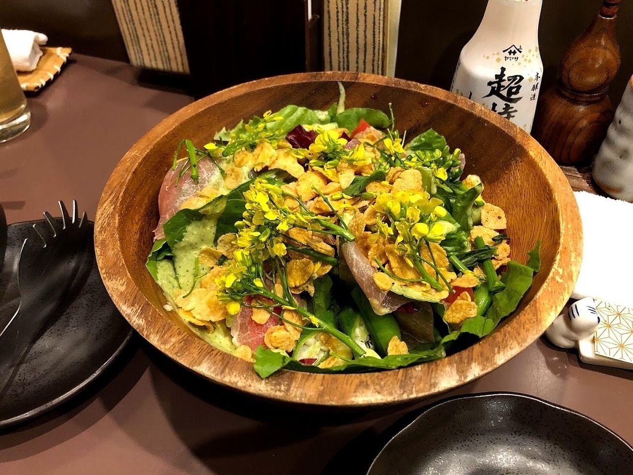 おすすめ彩りサラダ