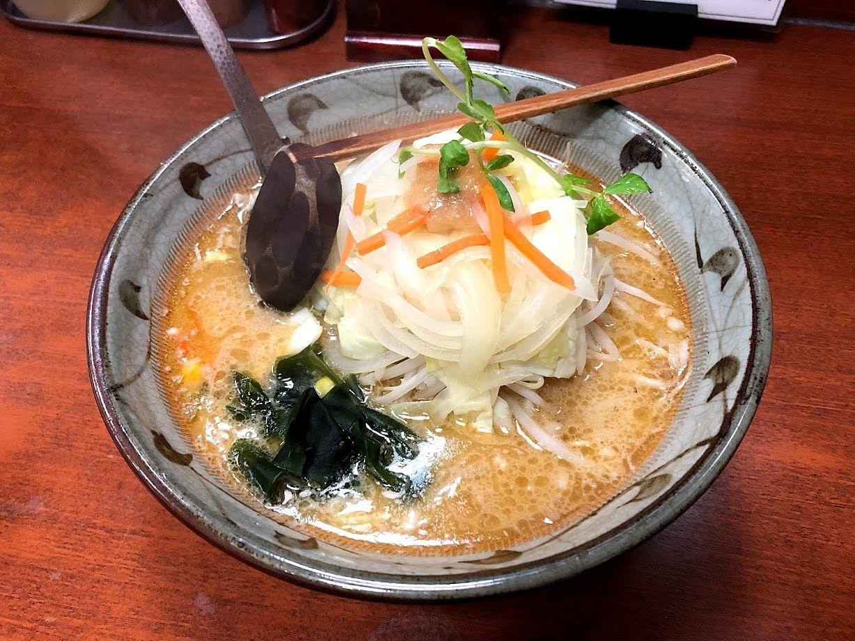 味噌やさいラーメン(純正ゴマ油・細麺)