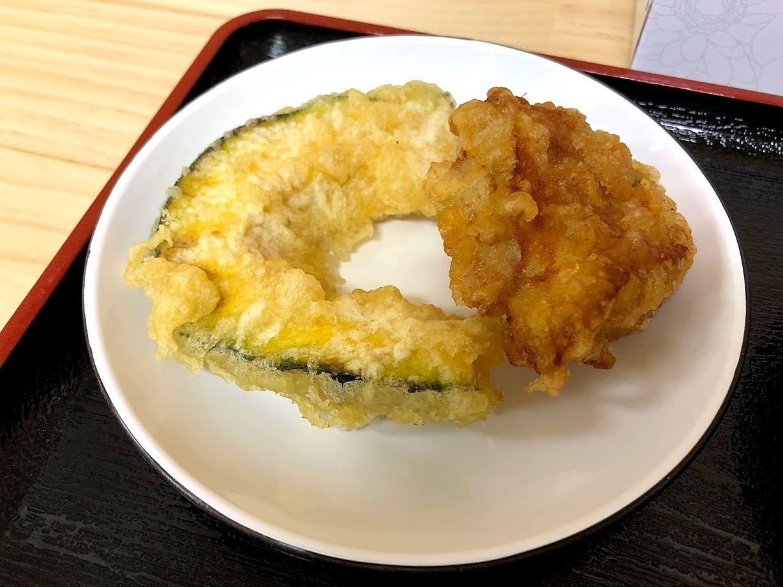 天ぷら2コ 200円
