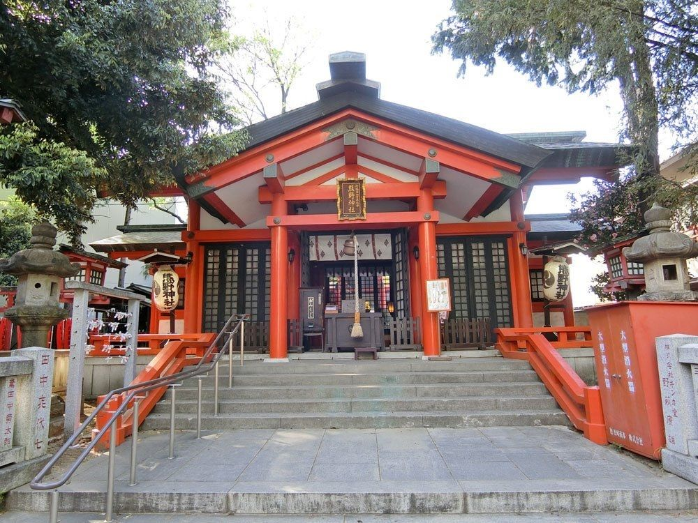 熊野神社(板橋区熊野町)の社殿