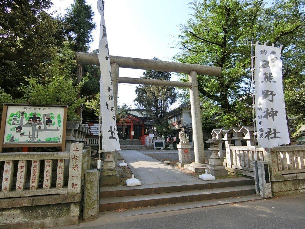熊野神社(熊野町)の鳥居