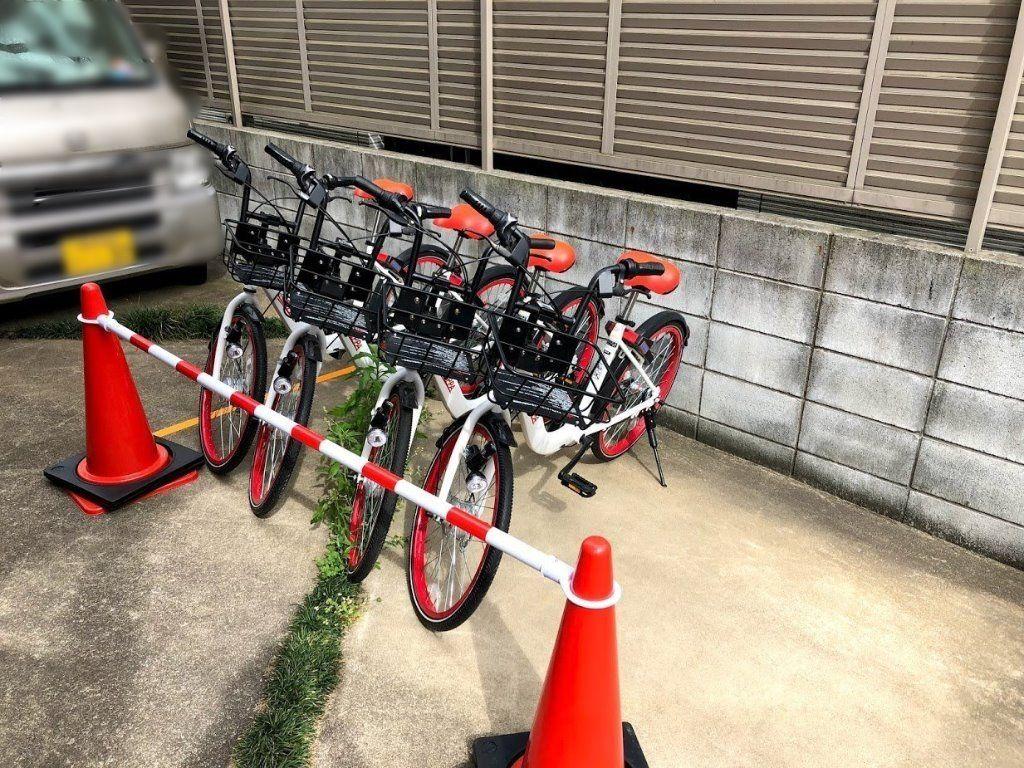シェアサイクルのPiPPA(ピッパ)の駐輪ポート