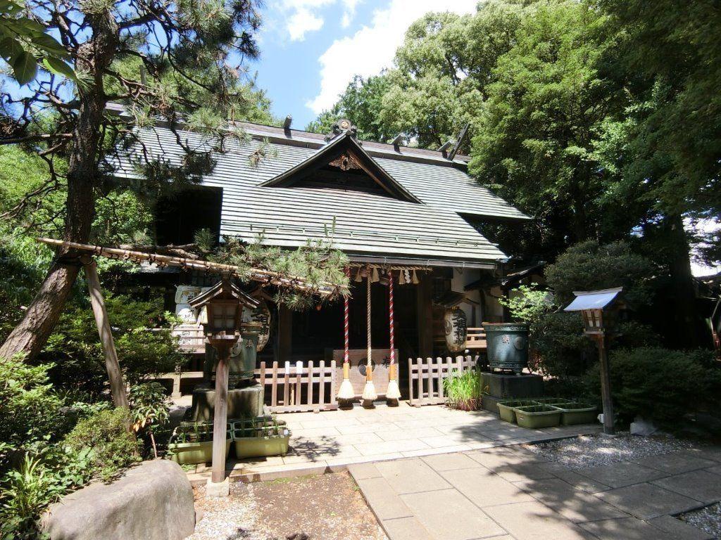天祖神社(ときわ台)の拝殿