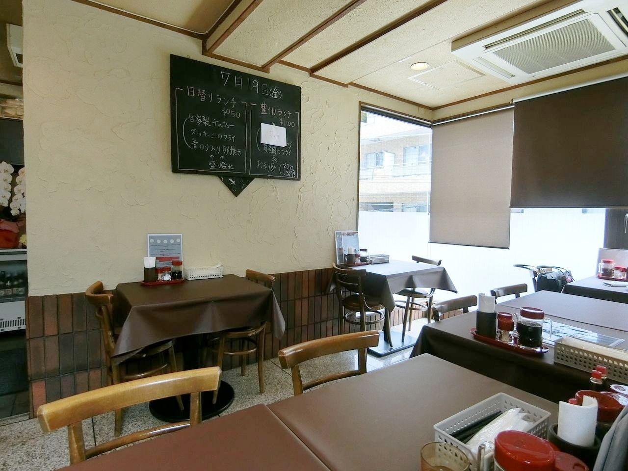 板橋区大山東町の洋食専門店かわしま