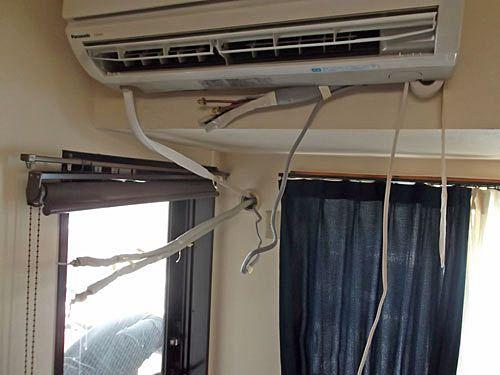 エアコンから冷風が出ない