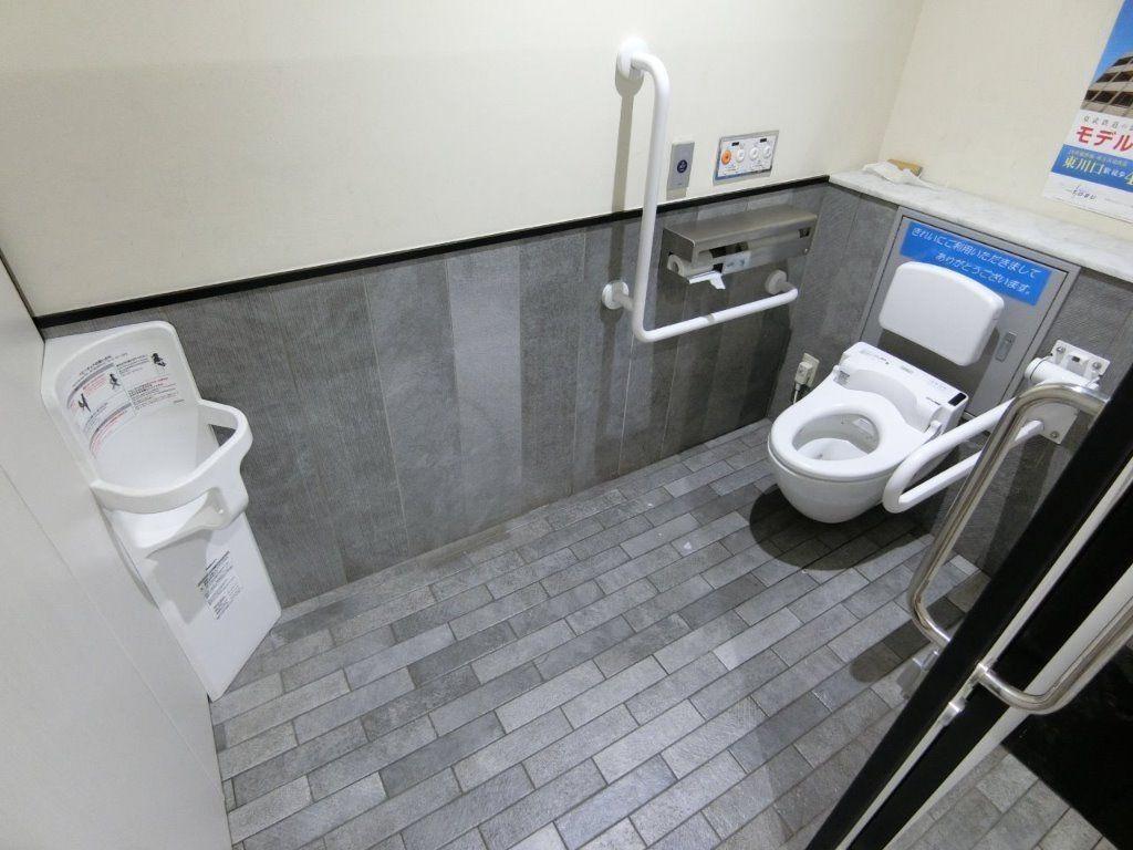 東武東上線ときわ台駅のトイレ