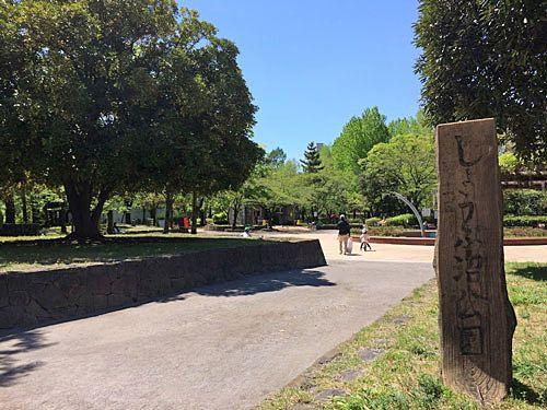 北綾瀬駅近くにある「しょうぶ沼公園」