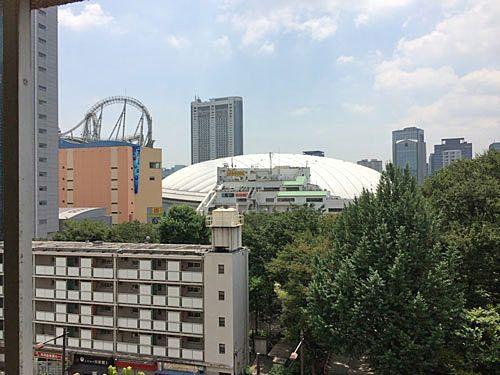 窓から東京ドームが見える分譲マンション