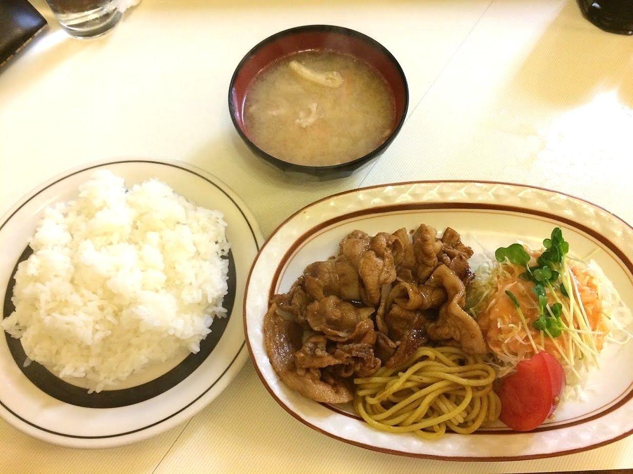 洋庖丁(ようぼうちょう)大山店のポーク焼肉
