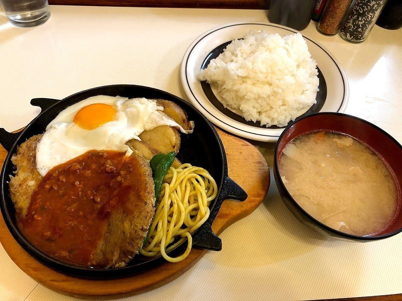 洋庖丁(ようぼうちょう)大山店のハンバーグステーキ