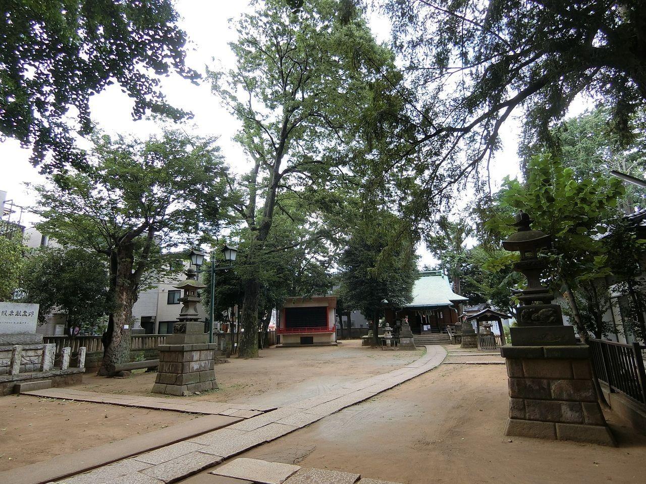 清水稲荷神社(板橋区宮本町)