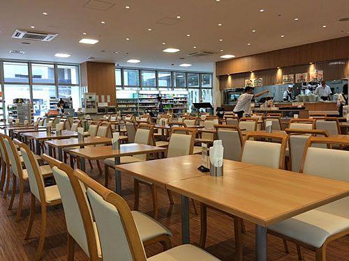 本庁舎の食堂「カフェダイニングNAKAJUKU」