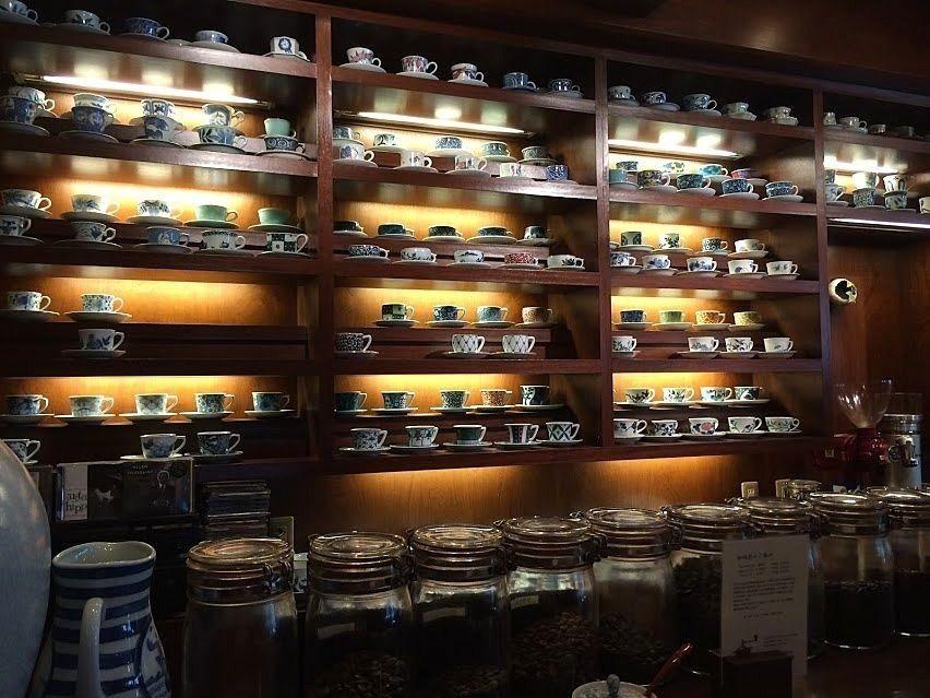 大山の喫茶店「あおい珈琲店」