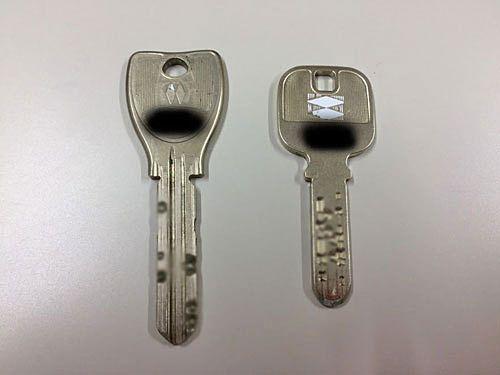 鍵は人に見せないで