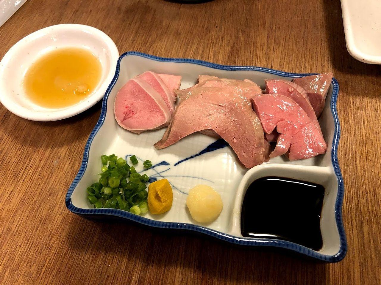 肉刺盛合せ 598円
