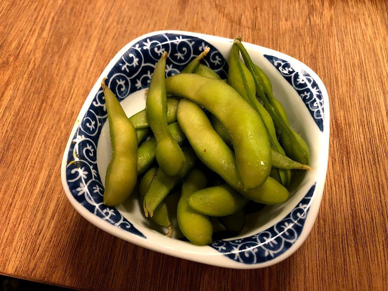枝豆 198円