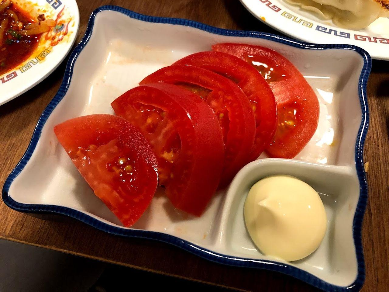 冷やしトマト 248円