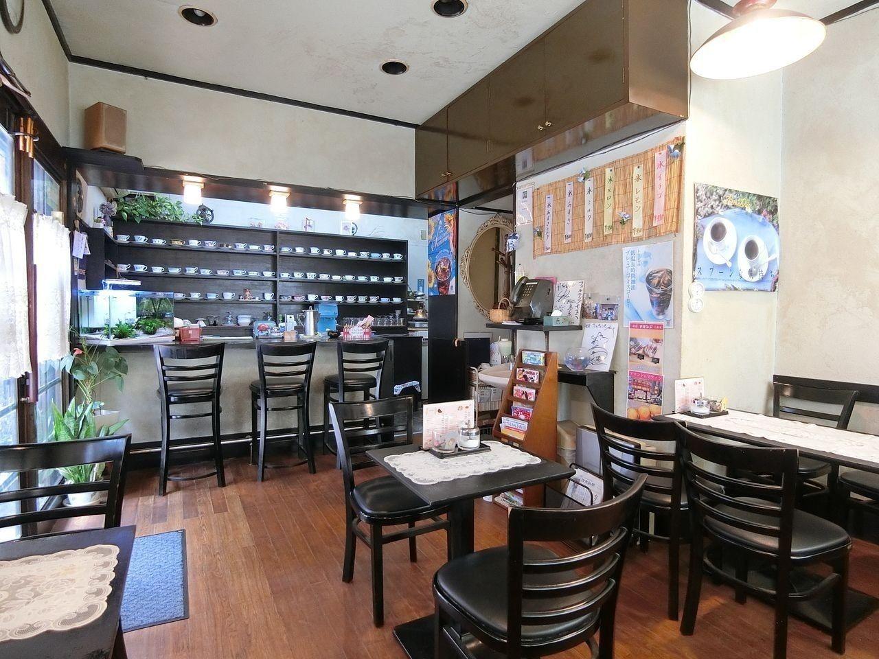 宮本町の喫茶店「フォルティシモ」