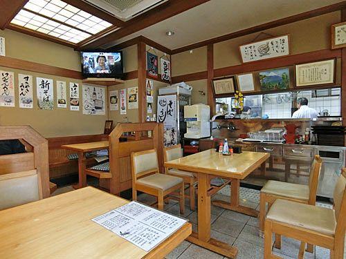 中丸町のそば処 寿美吉(すみよし)