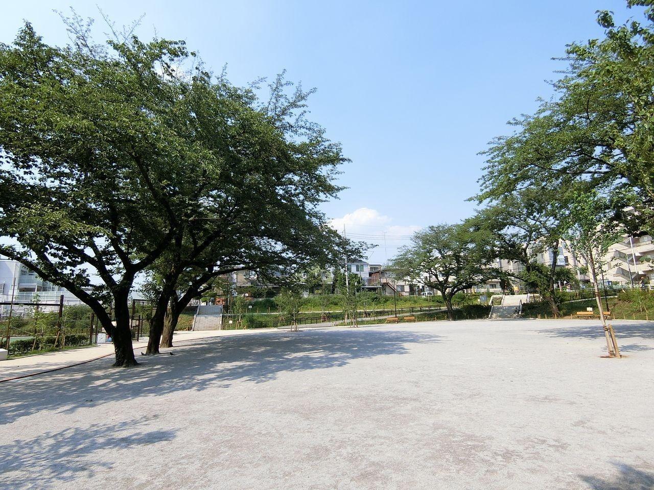 リニューアルした前野公園