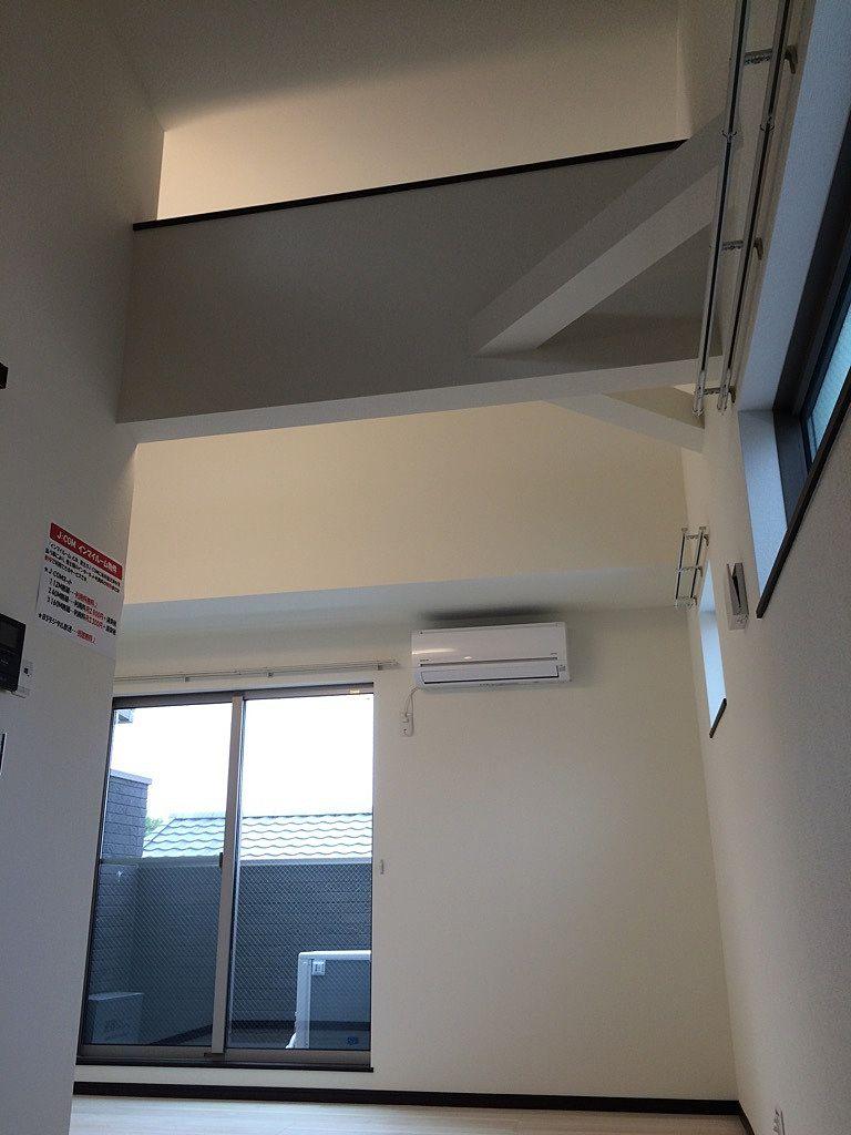 ロフトのない部分の天井の高さ