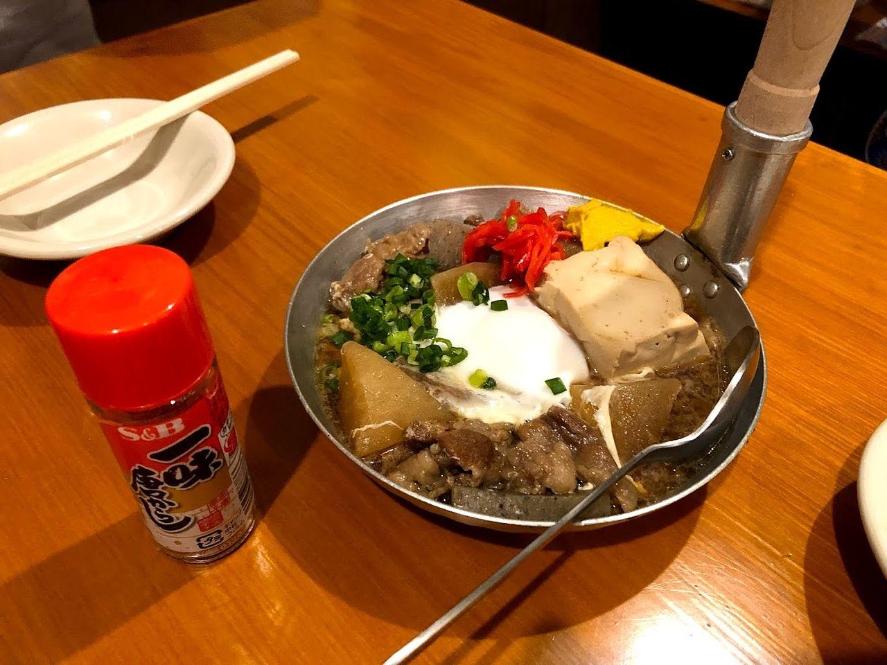 トロトロ牛スジ煮