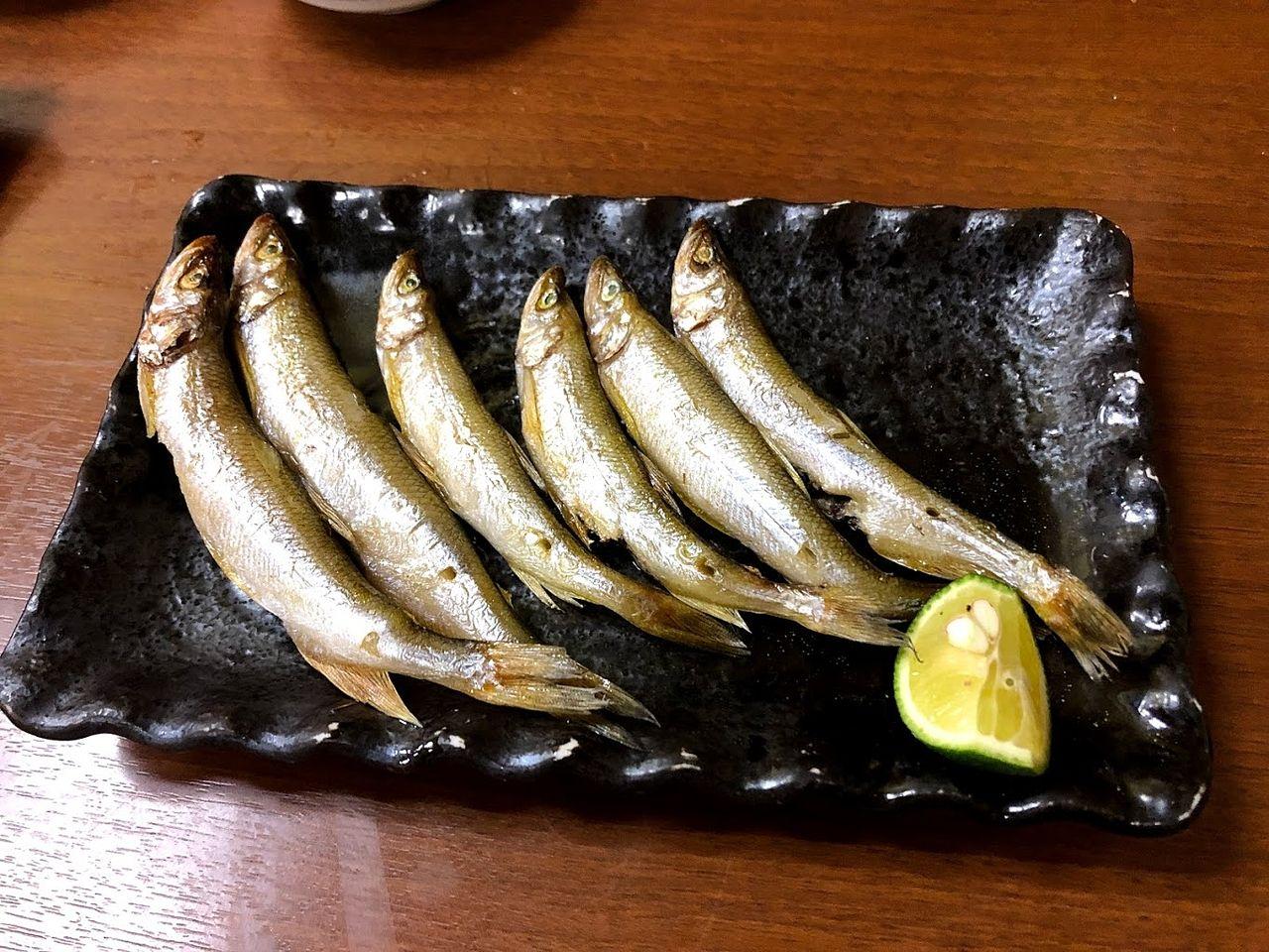 本ししゃも焼き(三河産) 780円