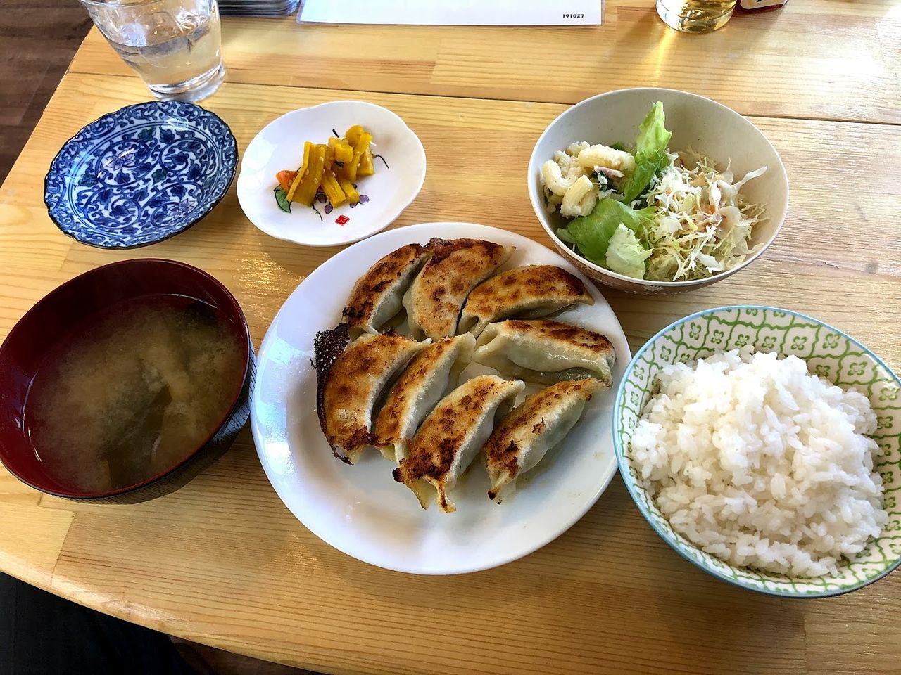 餃子定食 650円