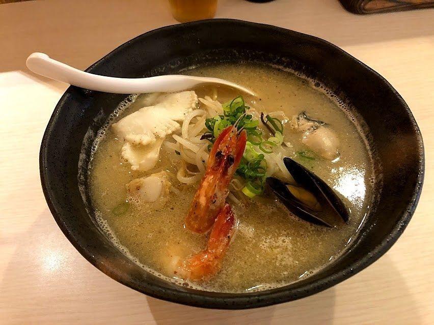 海鮮ラーメン 780円