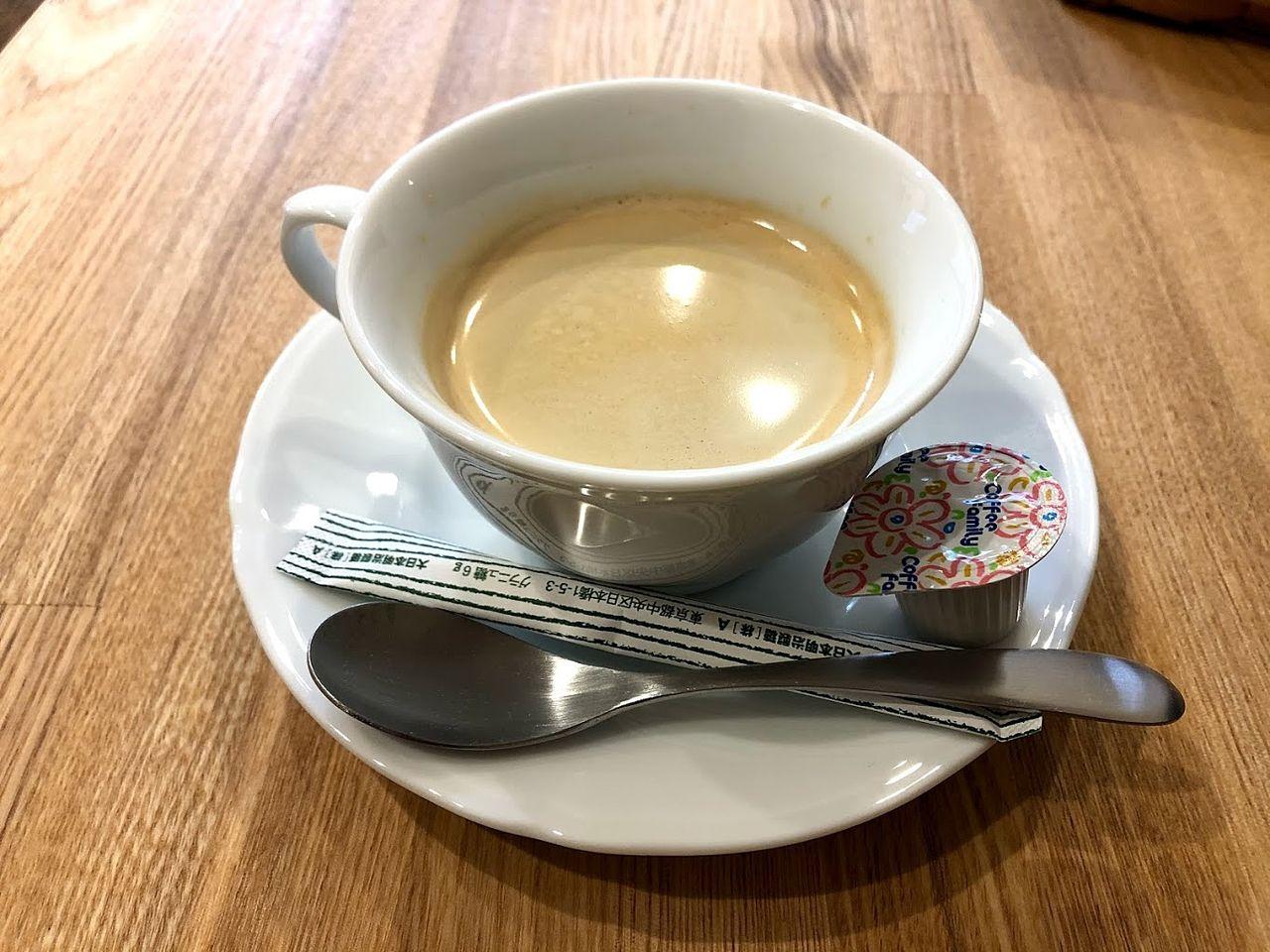 ホットコーヒー +100円