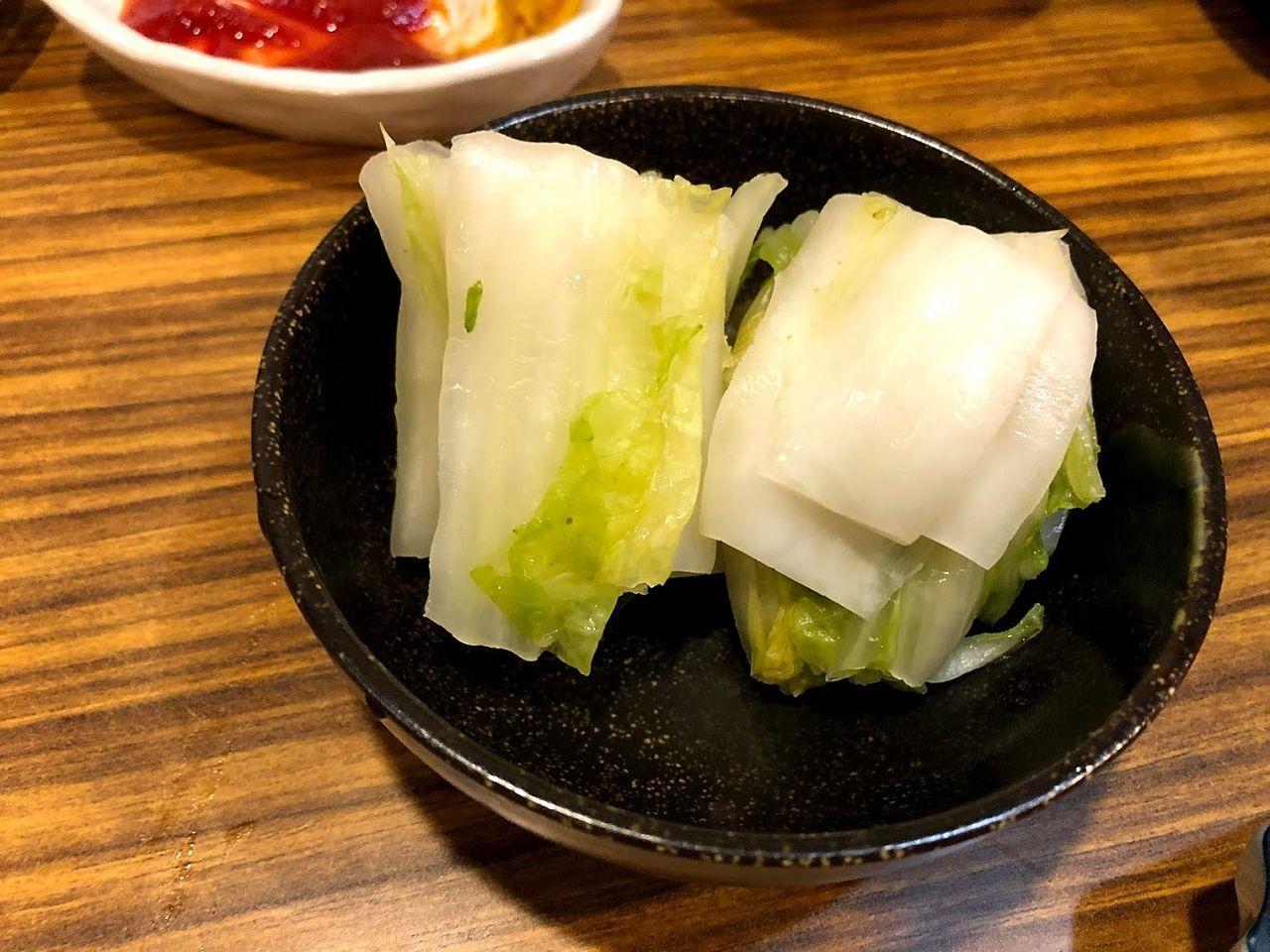 おしんこ 280円(税別)