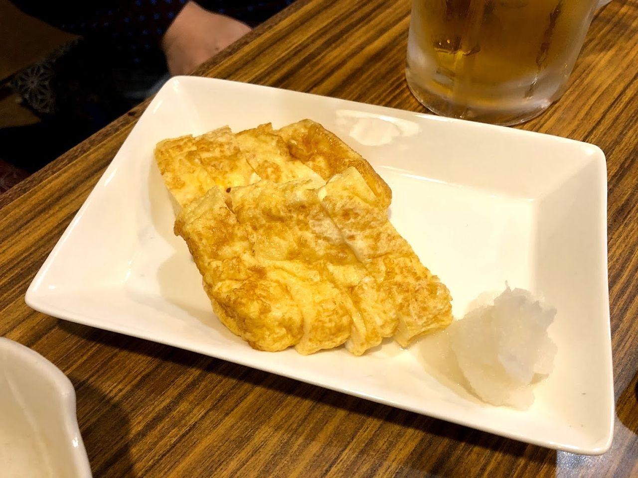 だし巻き玉子 480円(税別)