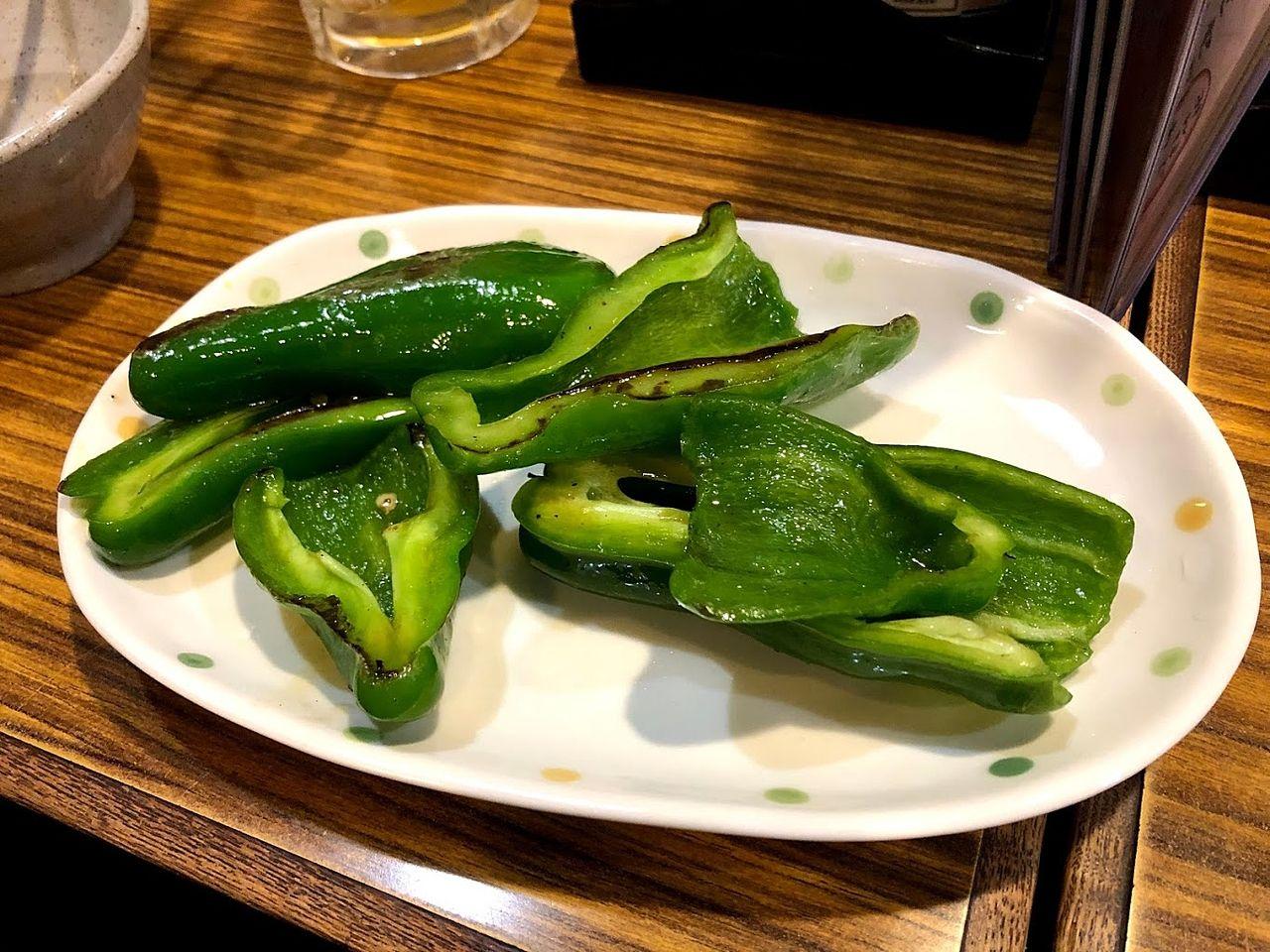 ピーマン炒め 380円(税別)