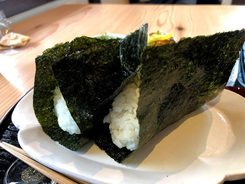 定食(おむすび2個) 780円