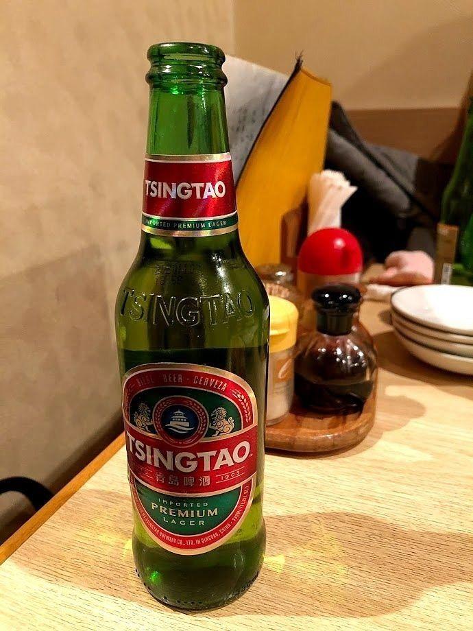 青島ビール 500円