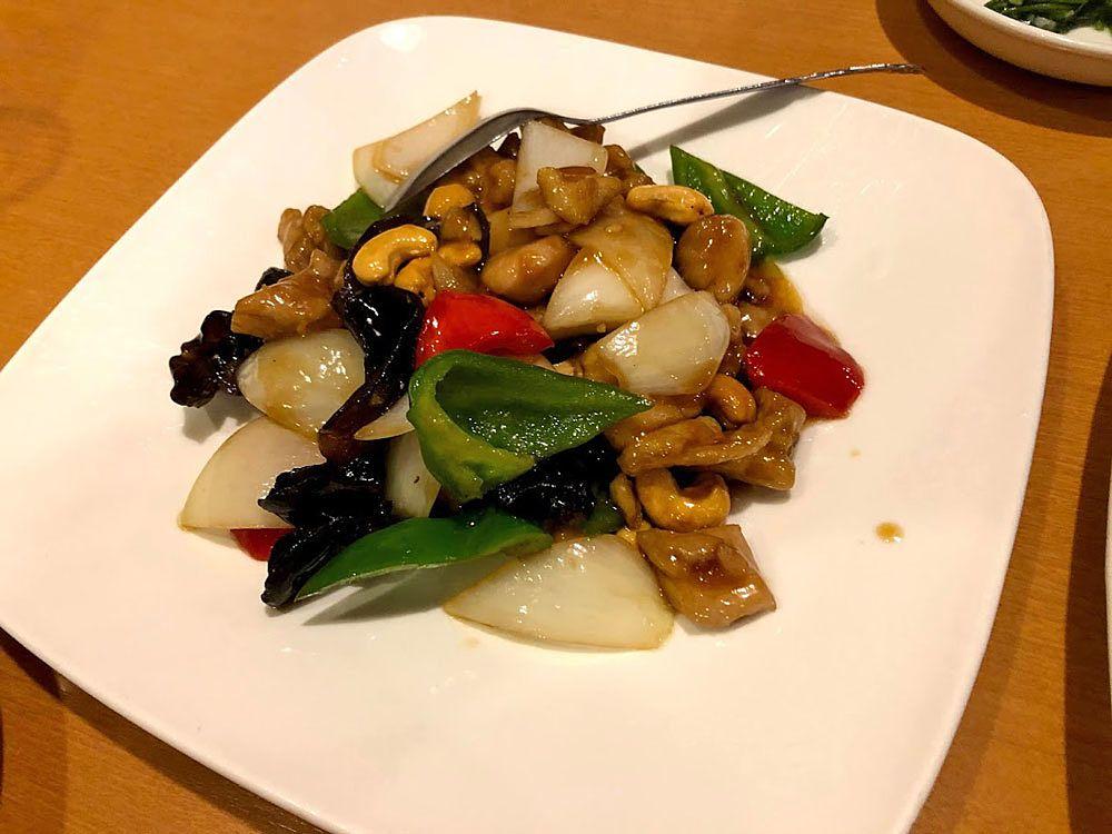 鶏肉とカシュナッツ炒め 830円