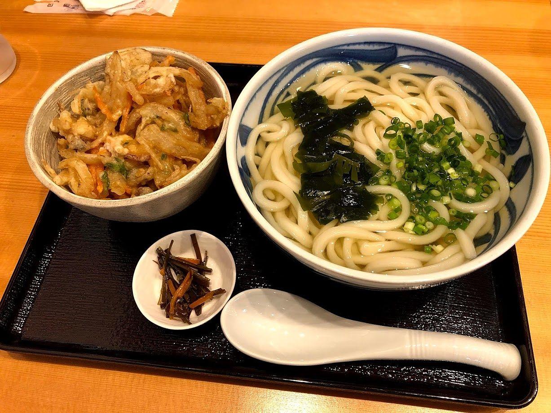 かき揚げ小丼定食 730円