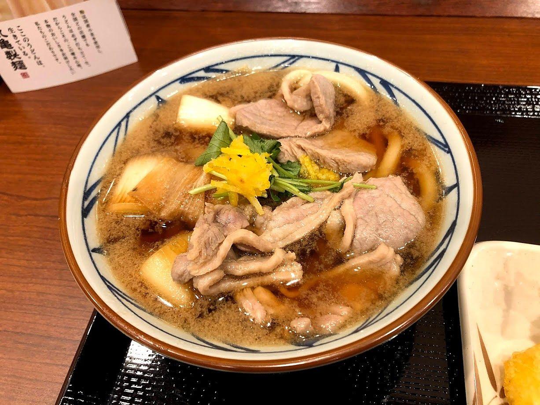 鴨ねぎうどん(並) 690円