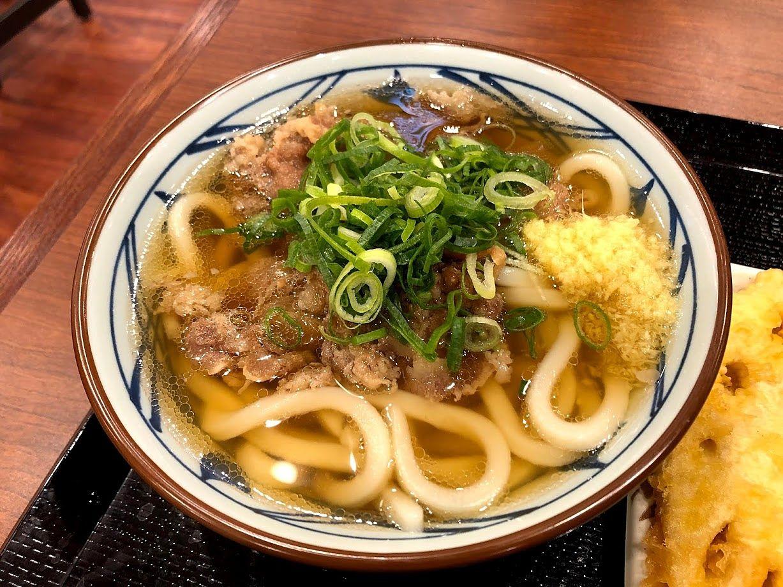 肉うどん(並) 590円