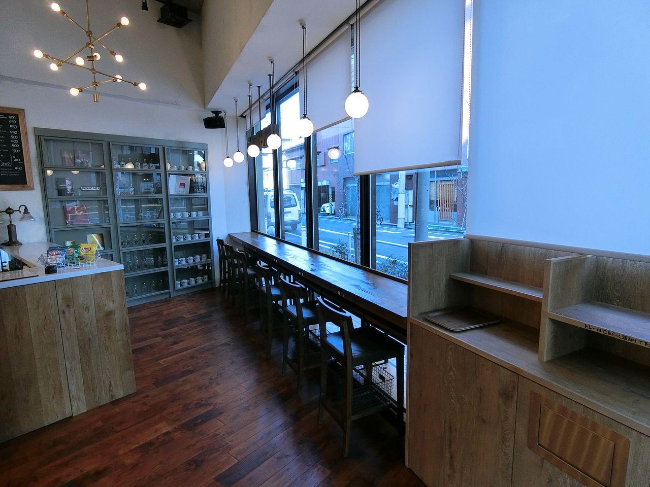 板橋4丁目のBRIDGE cafe(ブリッジカフェ)