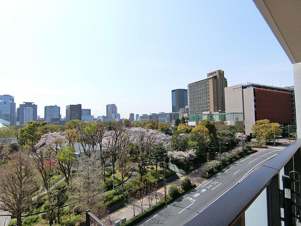 クレヴィア小石川後楽園9階からの眺望