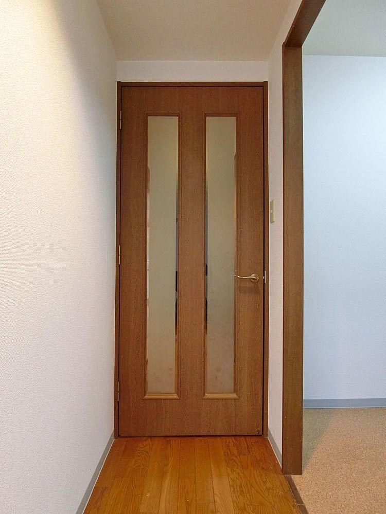 リフォーム前のリビング扉