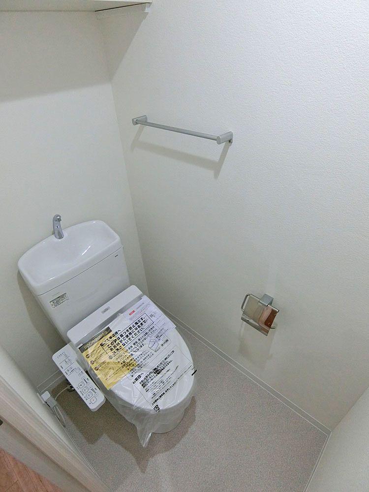 リノベーション後の温水洗浄便座トイレ