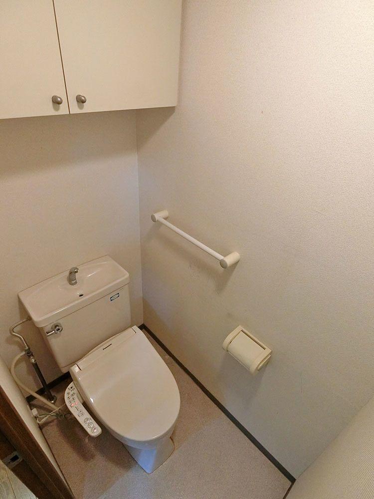 既存の温水洗浄便座トイレ
