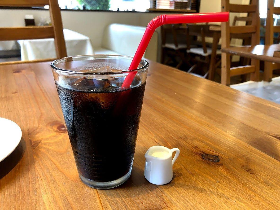 ランチドリンクのアイスコーヒー 330円