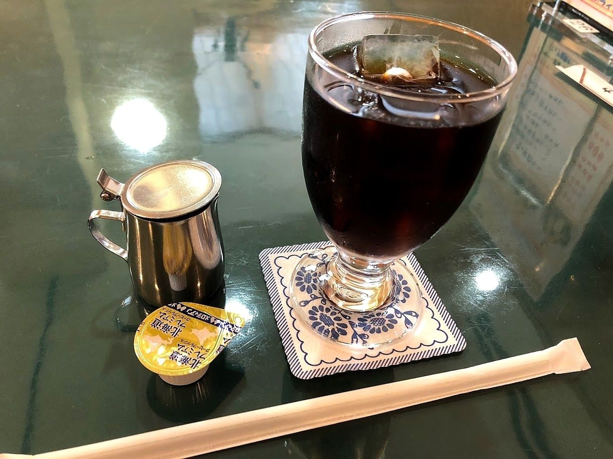 タカセ板橋店のアイスコーヒー