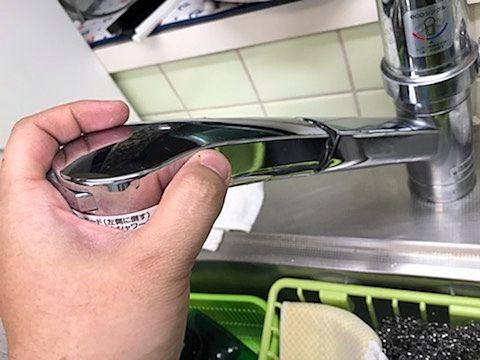 TOTOのキッチン用水栓【TKGG31EB】
