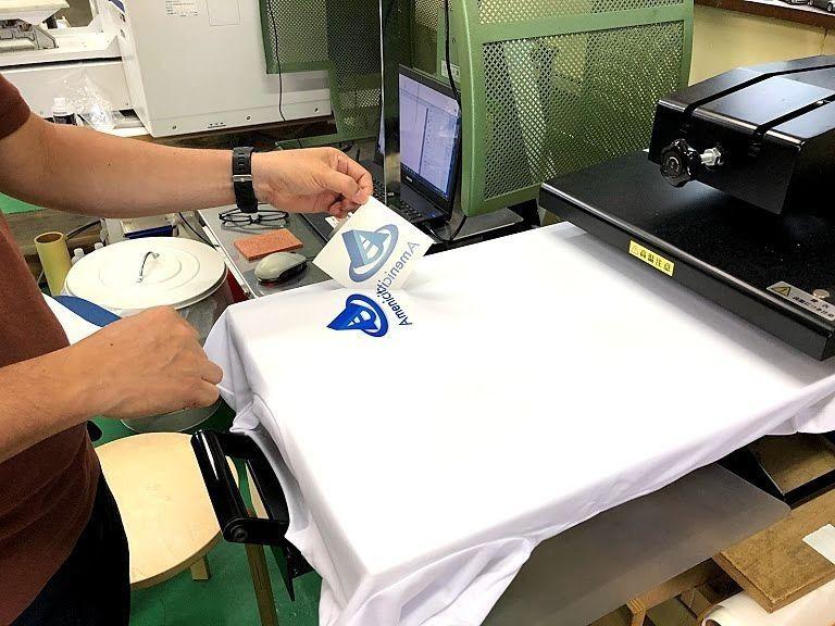 昇華プリントでオリジナルTシャツを作る